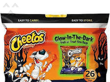 Cheetos Glow-in-the-dark Trick Or Treat Puffs review 233716