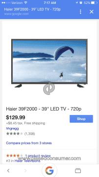 Haier 39F2000 Tv