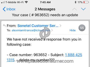 Sonetel - SCAM /Scam scam