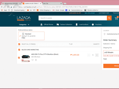 Lazada Philippines Claim review 307290