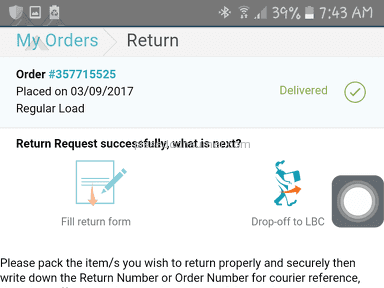 Lazada Philippines Shipping Service review 230130