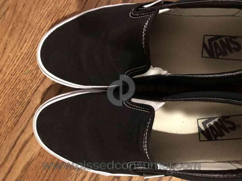 37 Vans Shoes Complaints and Reports
