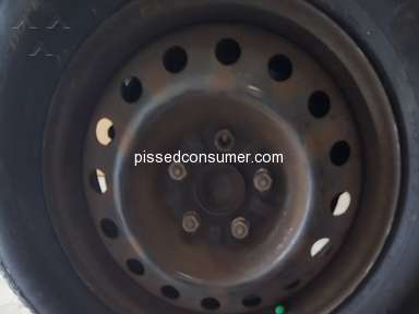 Tire Discounters - Loose bolt causes damage