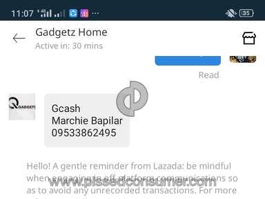 Lazada Philippines Piercey Shop Profile review 691931