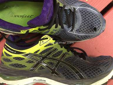 Asics shoes mesh too weak?