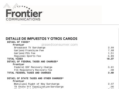 Frontier Communications - Simple Review #1481527611
