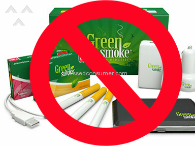 Green Smoke Affiliate Account Cancelled