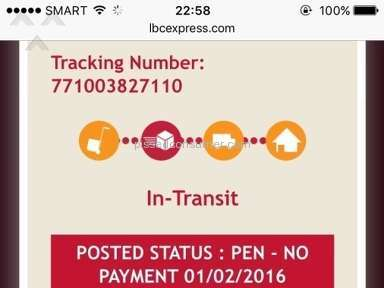Lbc Express Shipping review 106481