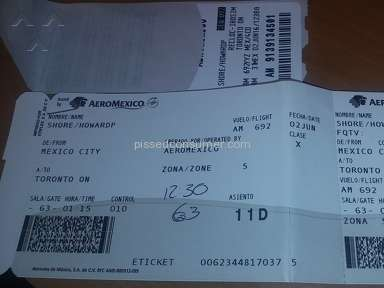 Aeromexico Airlines Flight review 138877