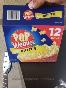 Weaver Popcorn Butter Popcorn