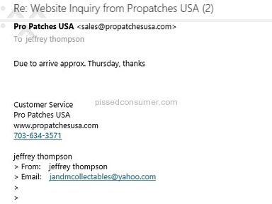 Propatches Usa E-commerce review 130313