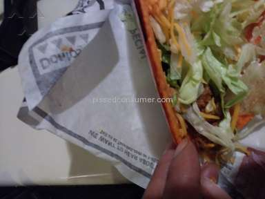 Taco Bell - Horrible service