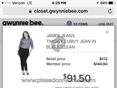 Gwynnie Bee Account review 127677