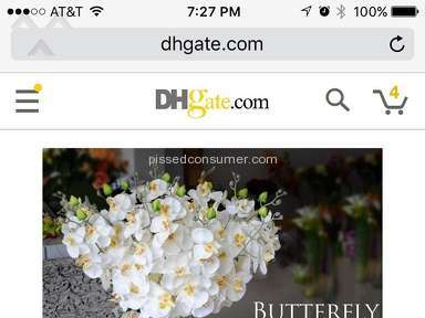 Dhgate Artificial Flowers review 149028