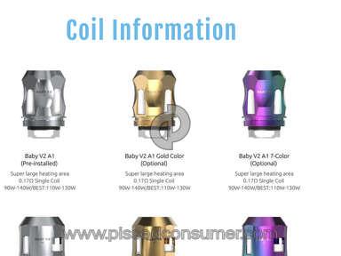 Smok - V2 A1 A2 And A3 coils