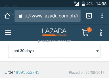 Lazada Philippines - Out of 22 items 4 delivered one still coming