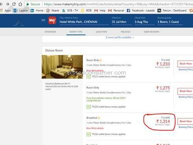 Boycott Makemytrip, they are making the people of India a fool.