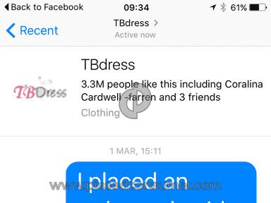 Tbdress Dress review 119601