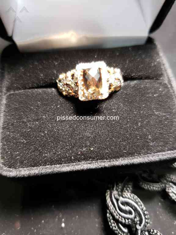 b31b56884 Not stamped inside the ring with Le Vian. Is it real? Chocolate diamonds do  not look chocolate