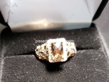 Not stamped inside the ring with Le Vian. Is it real? Chocolate diamonds do not look chocolate
