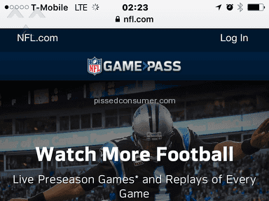 Nfl - Game Pass Subscription Review from Chicago, Illinois
