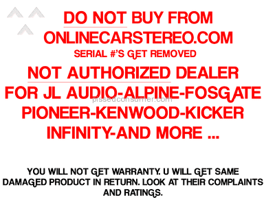 Onlinecarstereo Auctions and Internet Stores review 61267