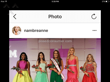 National American Miss - Girls in age categories are not same age