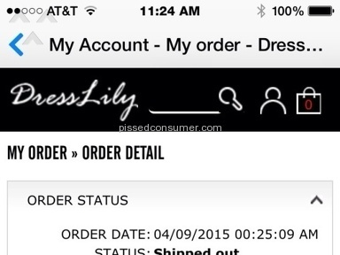 Dresslily T-shirt review 95347