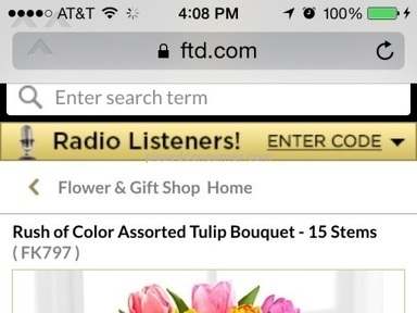 Ftd Flowers review 70671