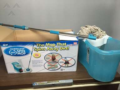 Telebrands - Hurricane Spin Mop Review from New Baltimore, Michigan