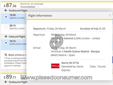 Edreams Flight Booking review 107591