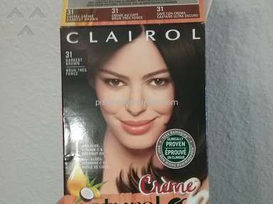 Clairol - Natural Instincts creme hair dye didn't work