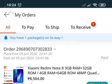 Lazada Philippines Shipping Service review 652581