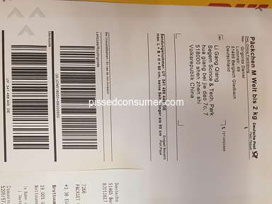 Aliexpress Shipping Service review 496863