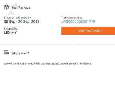 Lazada Malaysia - Item status delivered but not received yet