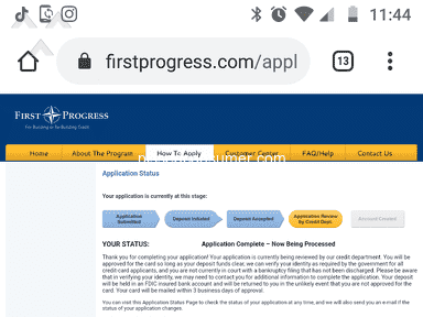 First Progress Cards review 593683