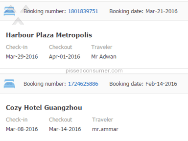 Ctrip just cancelled reservation without asking me!!..and its the second time they do this!!