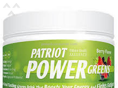 Patriot Health Alliance - Patriot Power Greens