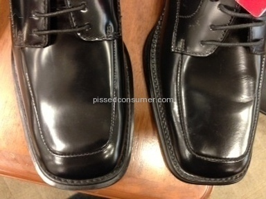 Kenneth Cole - Lack of quality KC's Men's shoes