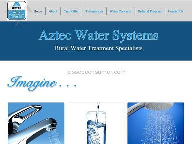 Aztec Water Systems Water System Installation review 177382