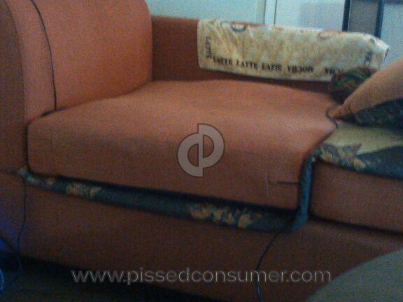 Poundex Bobkona Dayton Fabric Sofa