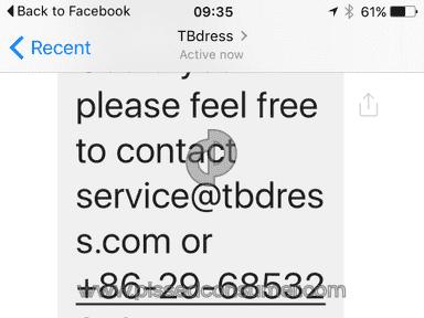 Tbdress Dress review 119607