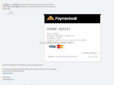 Paymentwall - I got scammed 45$