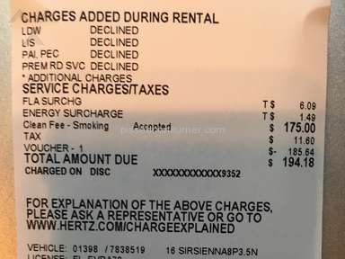 Hertz Toyota Car Rental review 154540