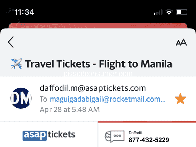 Asap Tickets Flight Booking review 814476