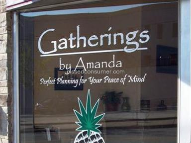 GATHERINGS BY AMANDA Entertainment review 1094