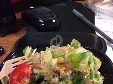 Wendys - Mediterranean salad to go