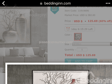 Bedding Inn - Totally disappointed