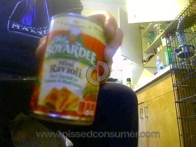 Chef Boyardee - Made me violently ill twice!