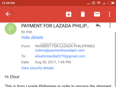 Lazada Philippines Shipping Service review 229050
